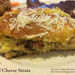 Basil Cheese Strata at Hennessey House