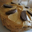 Devil's Food Cake with Peanut Butter Icing