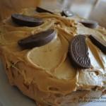 Devilish Peanut Butter Cake