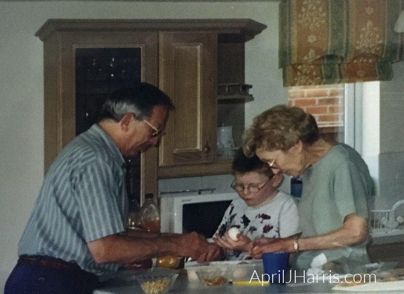 My late Mom's egg salad sandwiches were the stuff of legend in our family. Just enough mayonnaise and lots of crunch meant they were perfect for everyone!