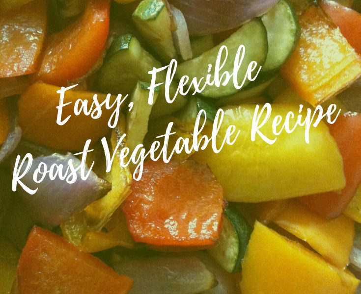 Roast Vegetables Recipe on a sheet pan