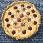 My Raspberry Almond Tart is an easy rustic tart recipe with sweet raspberries and delicious almond frangipane