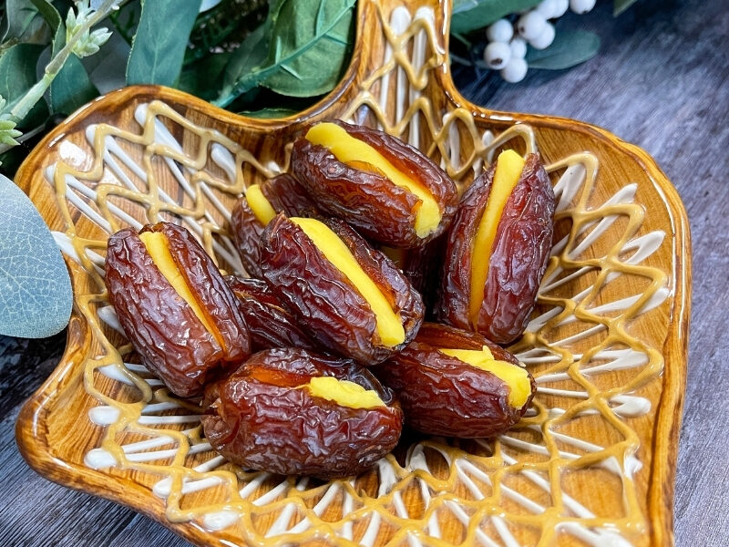 Marzipan Dates are the perfect Christmastime treat