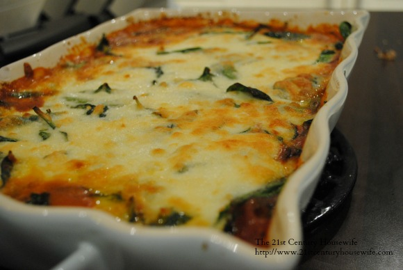 Vegetarian Moussaka on AprilJHarris.com