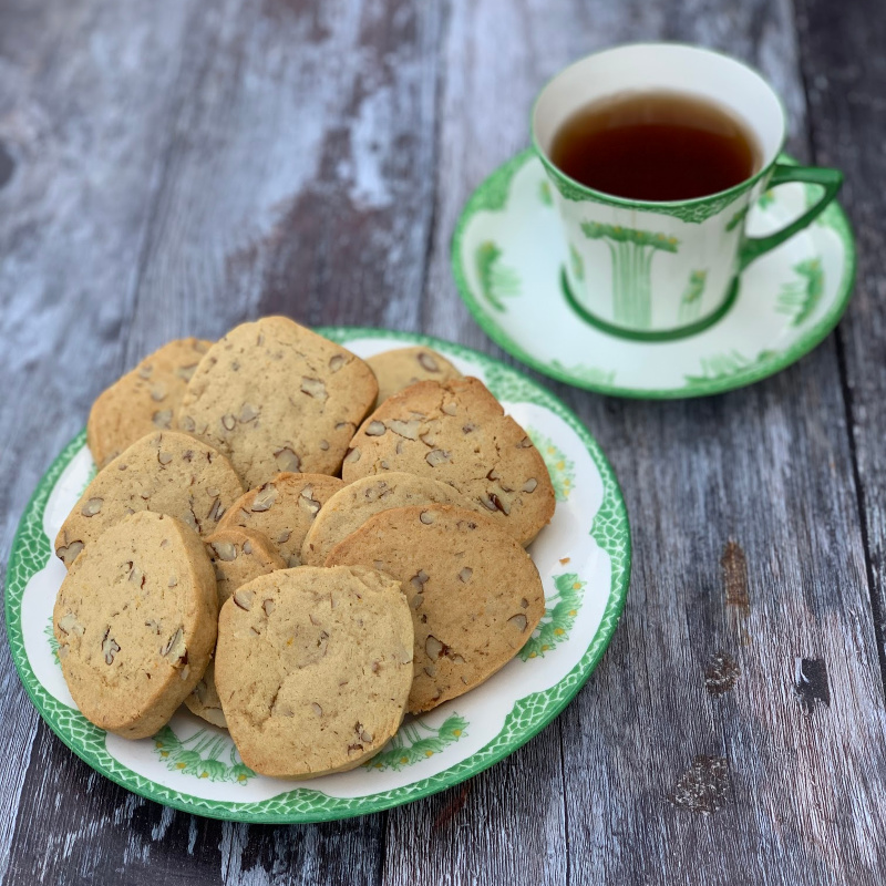 My Orange Pecan Cookies are delicate enough for afternoon tea with tea in china cups, but hearty enough to serve with a glass of milk, they make the perfect treat anytime.