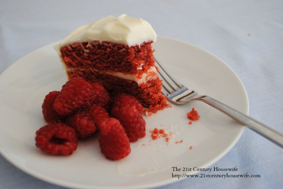 Easiest Ever Red Velvet Cake