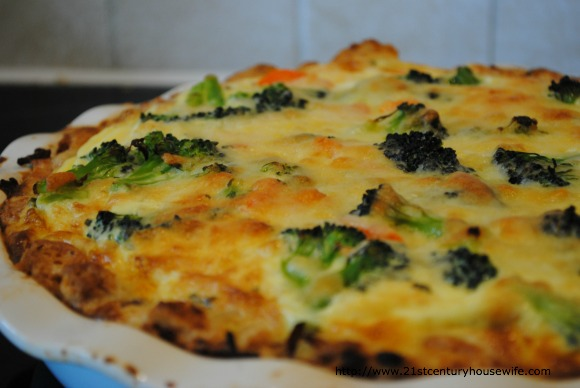 French Bread Egg Pie