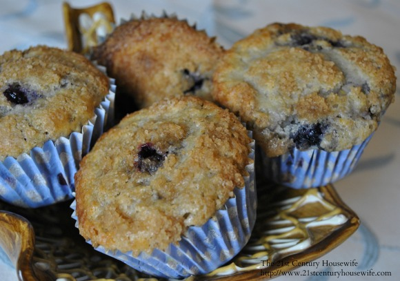 My Mom's Blueberry Muffins