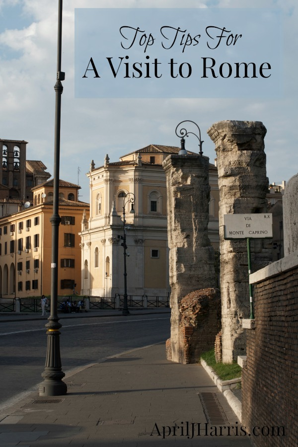 Top Tips for Seeing Rome in a Day