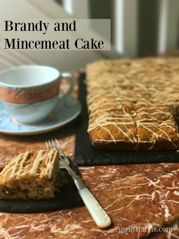 Brandy and Mincemeat Cake, an easy, light, warmly spiced fruitcake alternative