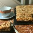 Mincemeat and Brandy Cake - an easy to make alternative to fruit cake at Christmas and all year round
