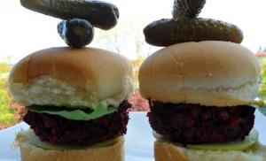 Beet Burgers 5