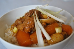 Chinese Style Beef in the Slow Cooker