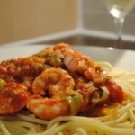 Easiest Ever Shrimp Primavera
