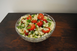 Another Visit To Ina's Garden – Ina's Tabbouleh