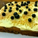 Blueberry, White Chocolate and Macadamia Nut Cake