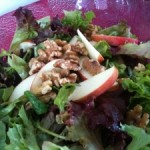 Balsamic Apple and Walnut Salad