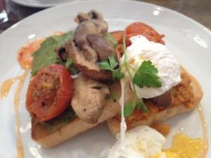 Meatless Monday Warming Vegetarian Breakfast