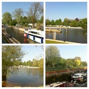 Mapledurham Lock Collage