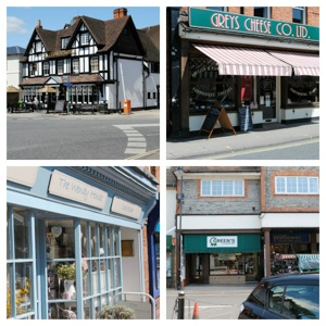 Pangbourne Shops Collage