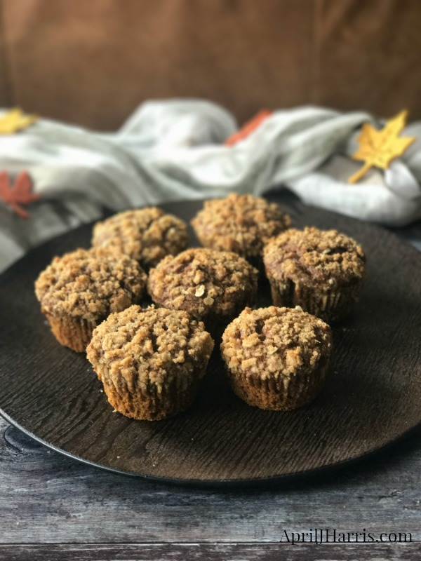 My warmly spiced, deeply delicious Pumpkin Gingerbread Muffins are perfect for breakfast, tea time and snacks