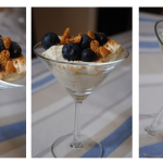 Limoncello and Blueberry Syllabub