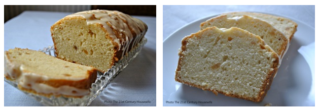 Triple Ginger Pound Cake Recipe - a delicious spiced loaf cake perfect for any time of day