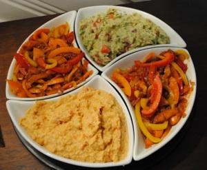 Vegetarian Appetizer Tray