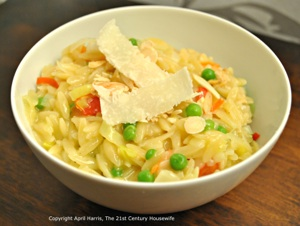 Vegetarian Orzotto