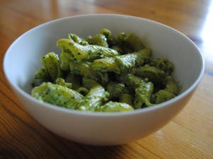 Basil and Almond Pesto with Lemon Oil
