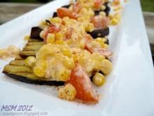 eggplant corn sauce 4