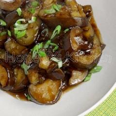 garlic eggplant HB