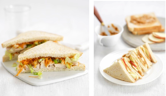Two Yummy Sandwiches