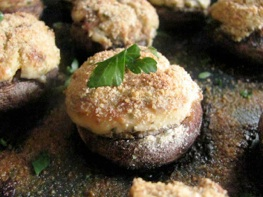stuffed mushrooms pound cake 002