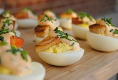 Crab and Chipotle Aioli Deviled Eggs 02