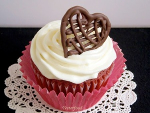 Chocolate Drizzle Heart from Yesterfood