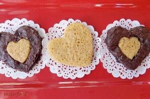 Brownies Love Blondies from Yesterfood
