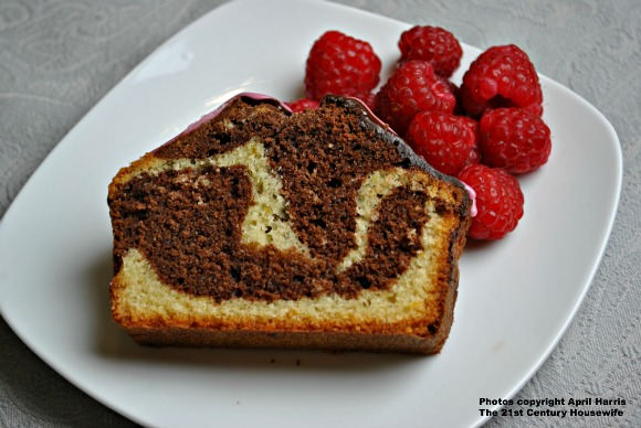 Chocolate Orange Marble Cake Recipe - April J Harris
