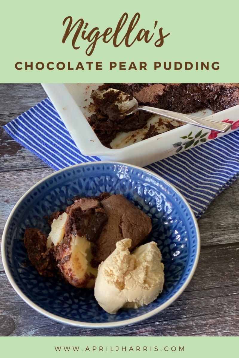 Nigella's Chocolate Pear Pudding Cake