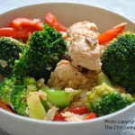 Easy Salmon and Broccoli Stir Fry
