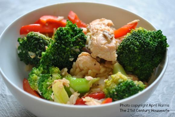 Easy Salmon and Broccoli Stir Fry