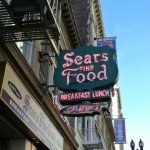 Sears Restaurant San Francisco