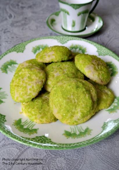 St Patrick's Day Sugar Cookies
