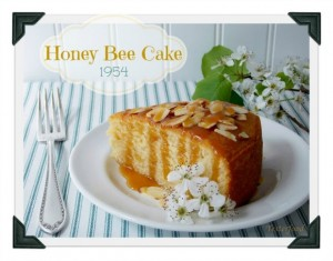 Honey Bee Cake from Yesterfood