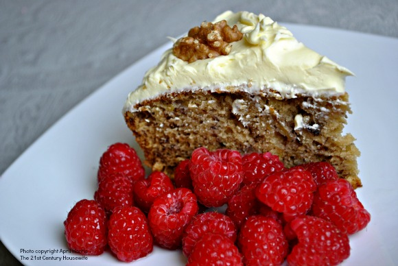 Slice of Old Fashioned Banana Cake