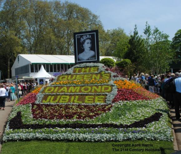 Diamond Jubilee display at Chelsea