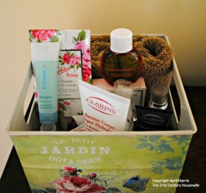 Guest Bathroom Toiletries Box