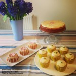 Lemon and Ginger Cake, Cupcakes and Mini Bundt Cakes