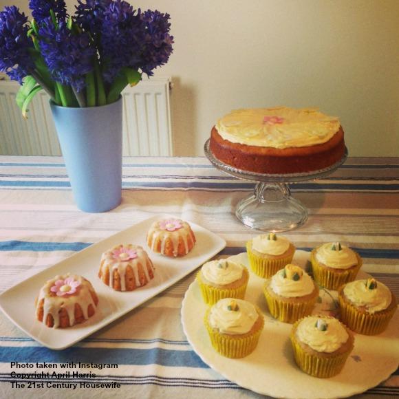 Lemon and Ginger Cakes