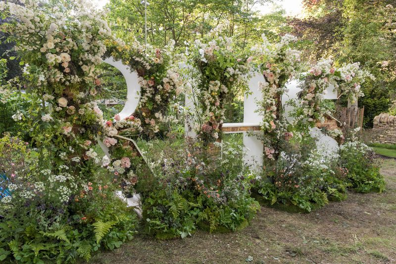 RHS Letters at The Chelsea Flower Show 2018 photo credit RHS / Tim Sandall used with permission
